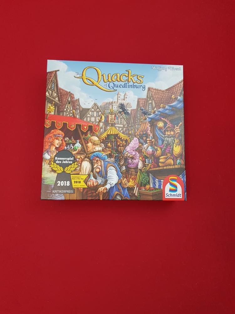 A picture of the game Quacks of Quedlinburg