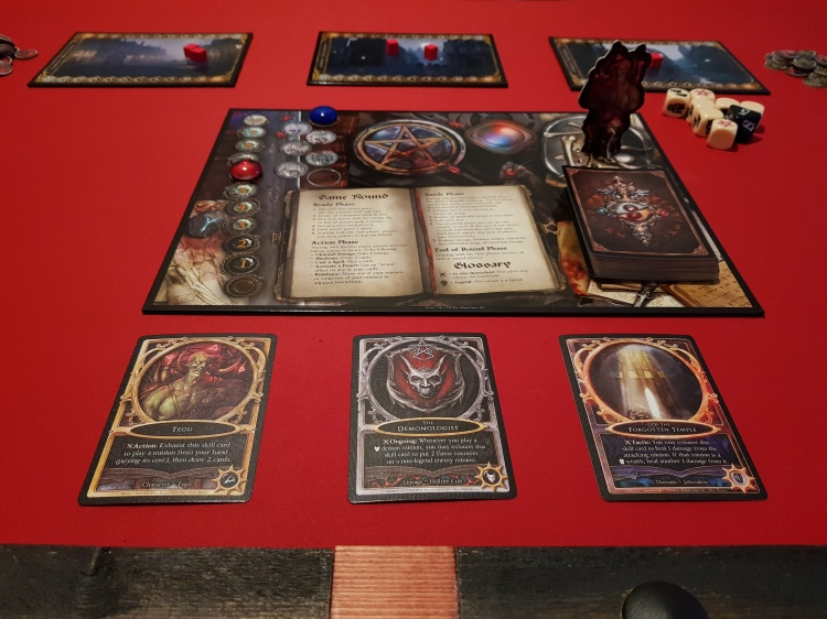 A picture of one of the setupsin sorcerer i played.